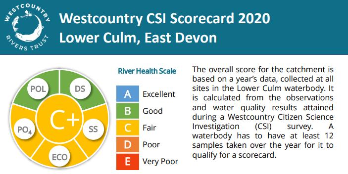 Culm CSI Lower Culm Scorecard