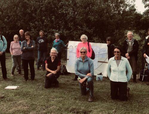 Water, wildlife & vegetation monitoring training & volunteering – getting outdoors in groups again!